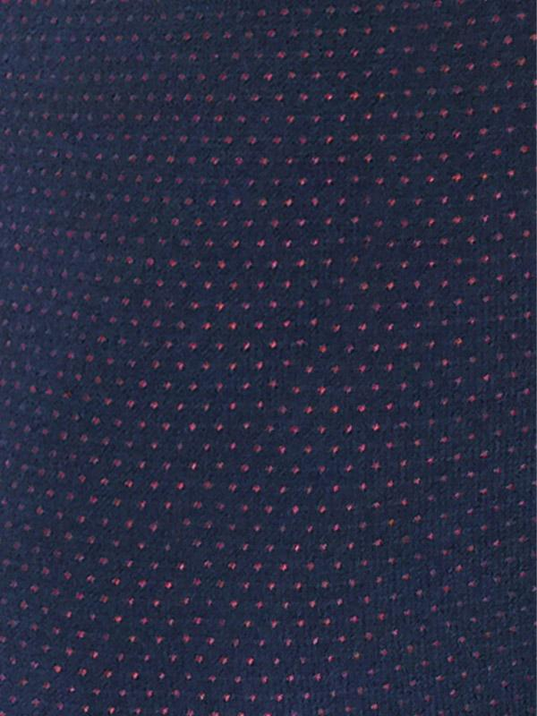 "Lega kleit ""Violetta Navy - Bordeaux Dots"""