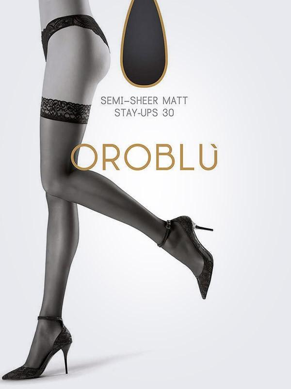 "Oroblu sukad ""Chic Up 30 Den Black"""